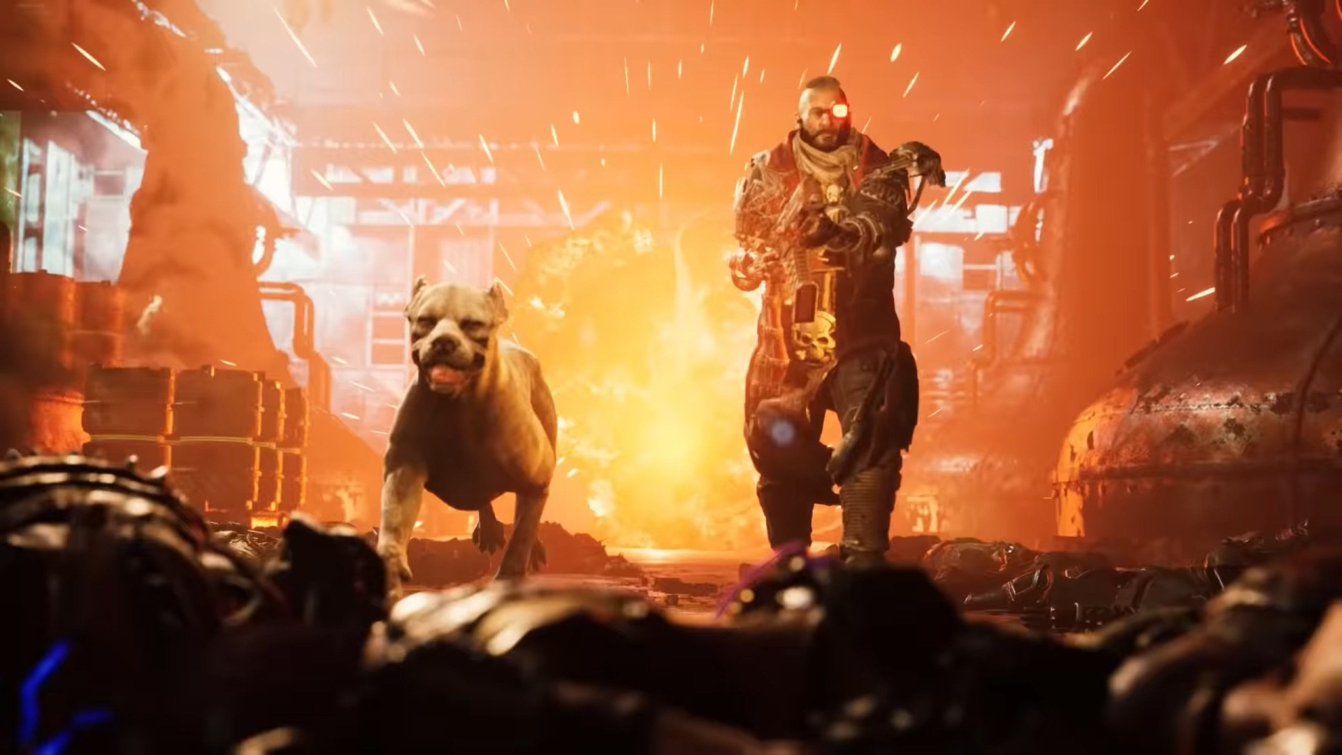 Trailer, Ego-Shooter, Shooter, Focus Home Interactive, Warhammer 40k, Warhammer, Necromunda: Hired Gun, Focus Home, Warhammer 40.000, Necromunda