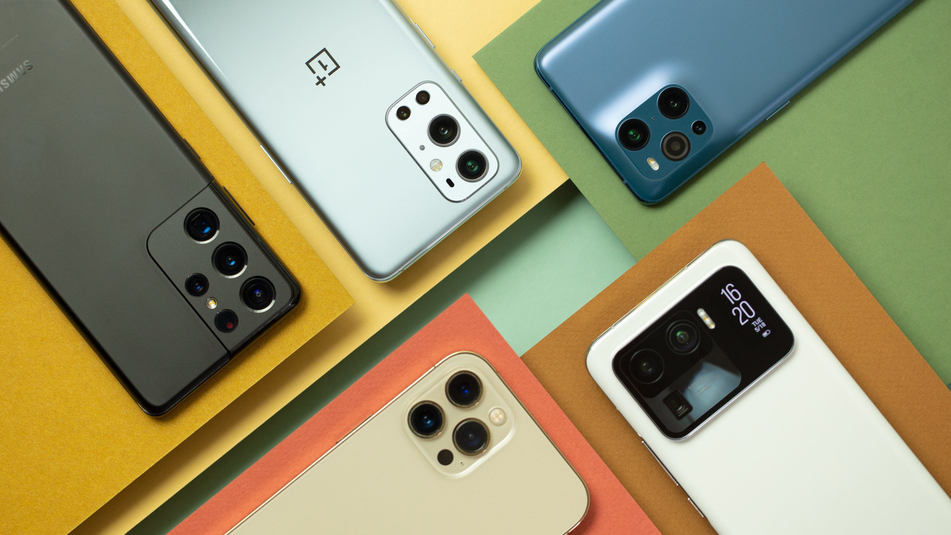 Smartphone, Smartphones, Handy, Vergleich, Handys, Samsung Galaxy S21 Ultra, OnePlus 9 Pro, Oppo Find X3 Pro, Xiaomi Mi 11 Ultra, Apple iPhone 12 Max