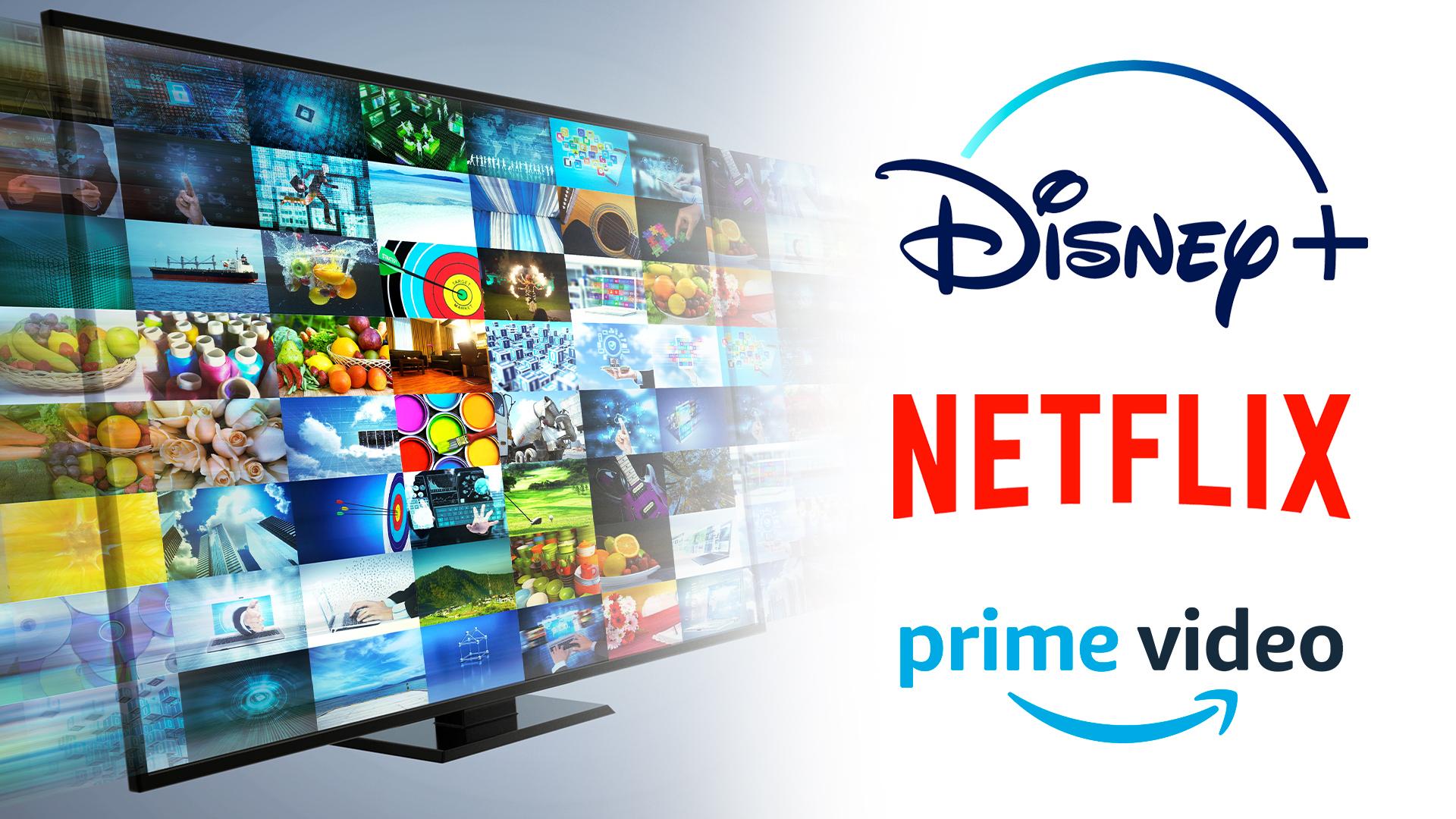 Streaming, Logo, Netflix, Videoplattform, Streamingportal, Disney+, Videostreaming, Amazon Prime Video, Prime Video, Disney Plus, Netflix Logo