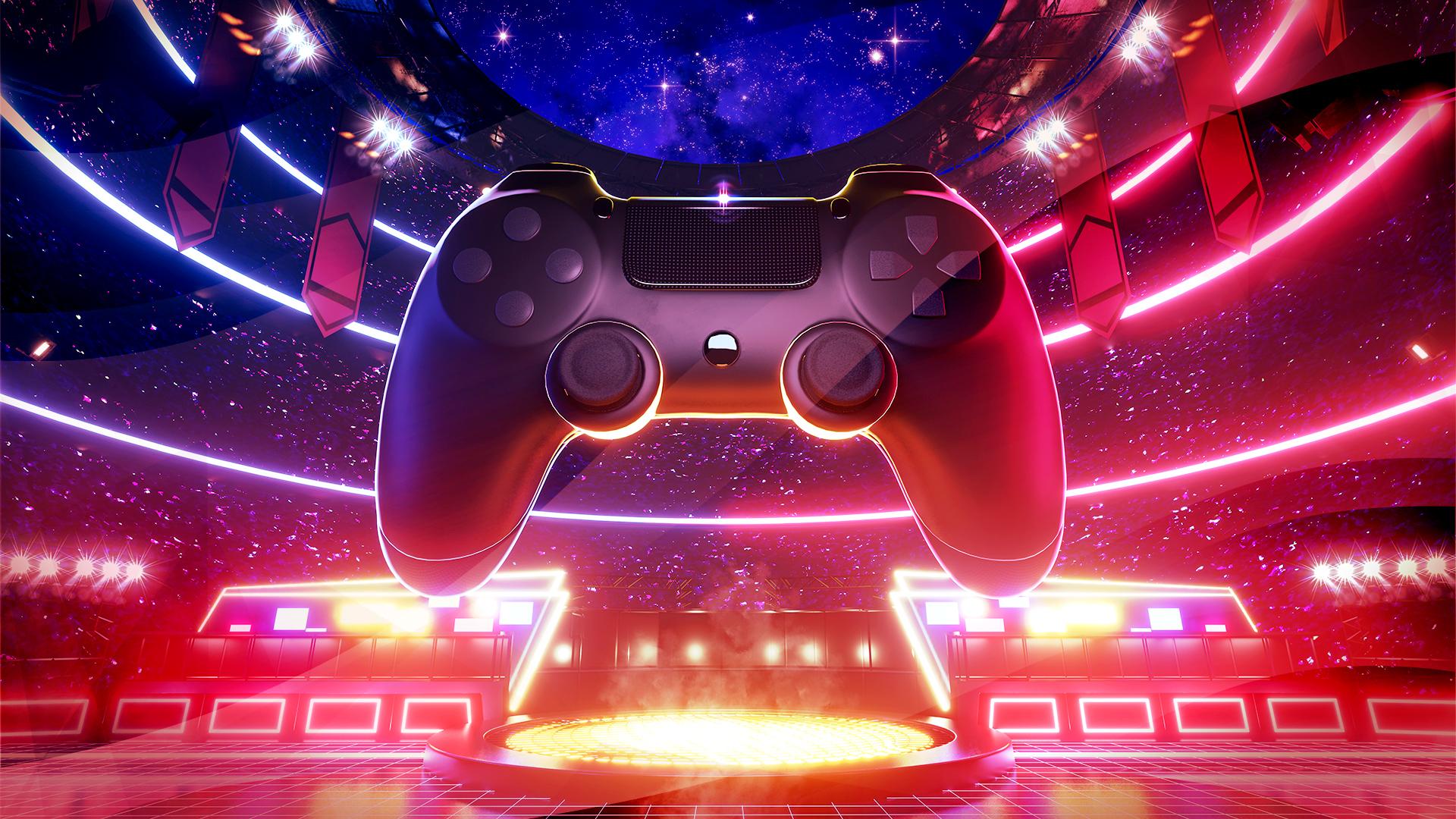 Gaming, Spiele, Games, Controller, Spieler, Gamer, E-Sports, E-Sport, Profi-Gamer, E-Sport-Tunier, Gaming Controller, Arena
