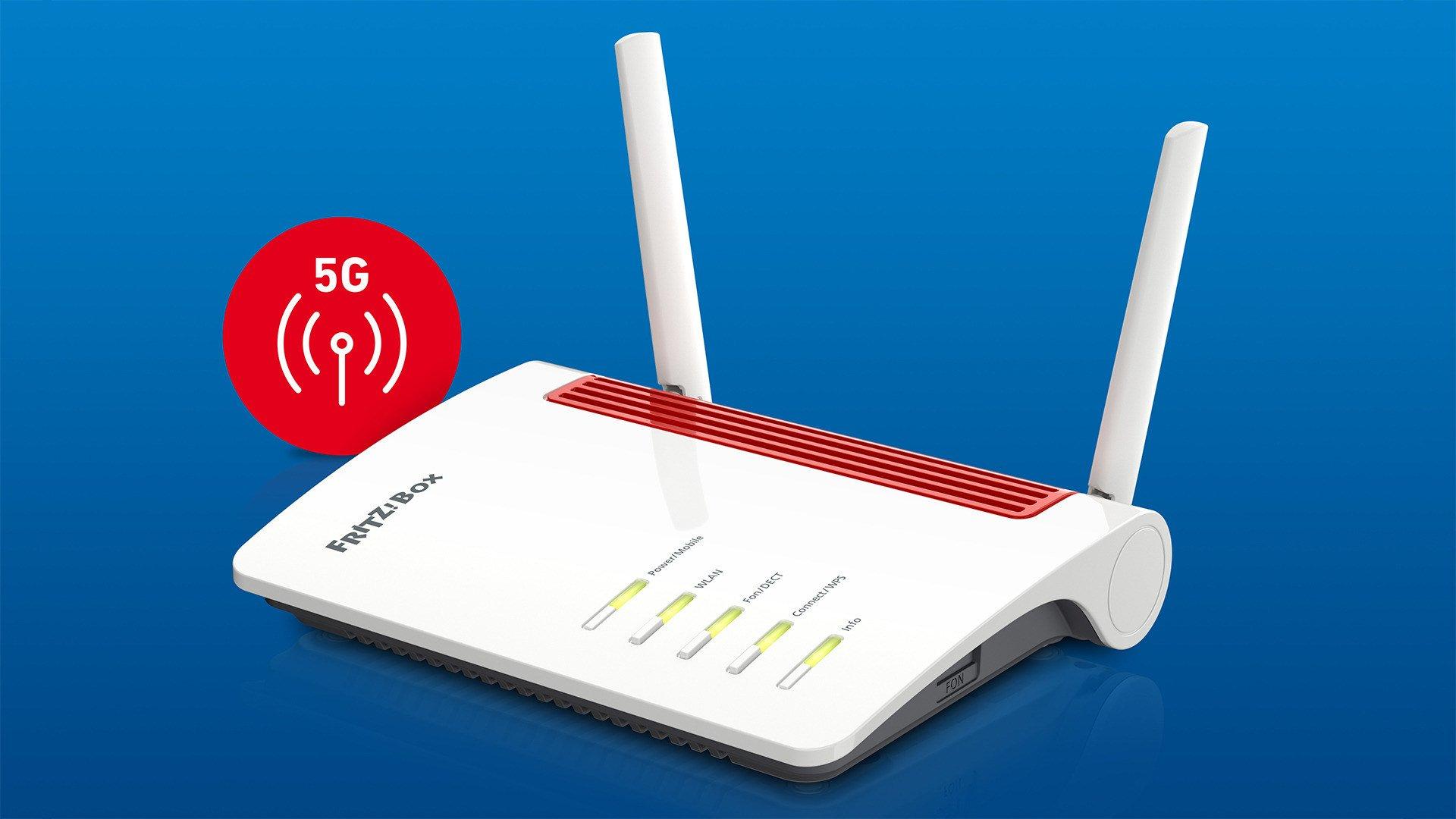 Mobilfunk, Router, Netzwerk, Avm, FritzOS, Mesh, Wi-Fi, FritzBox 6850 5G