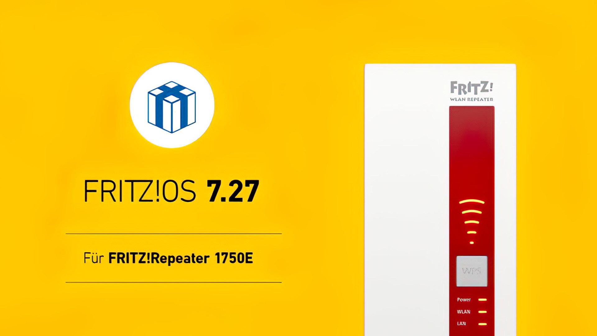 Fritzbox, FritzOS, FritzRepeater, FRITZ!Repeater 1750E