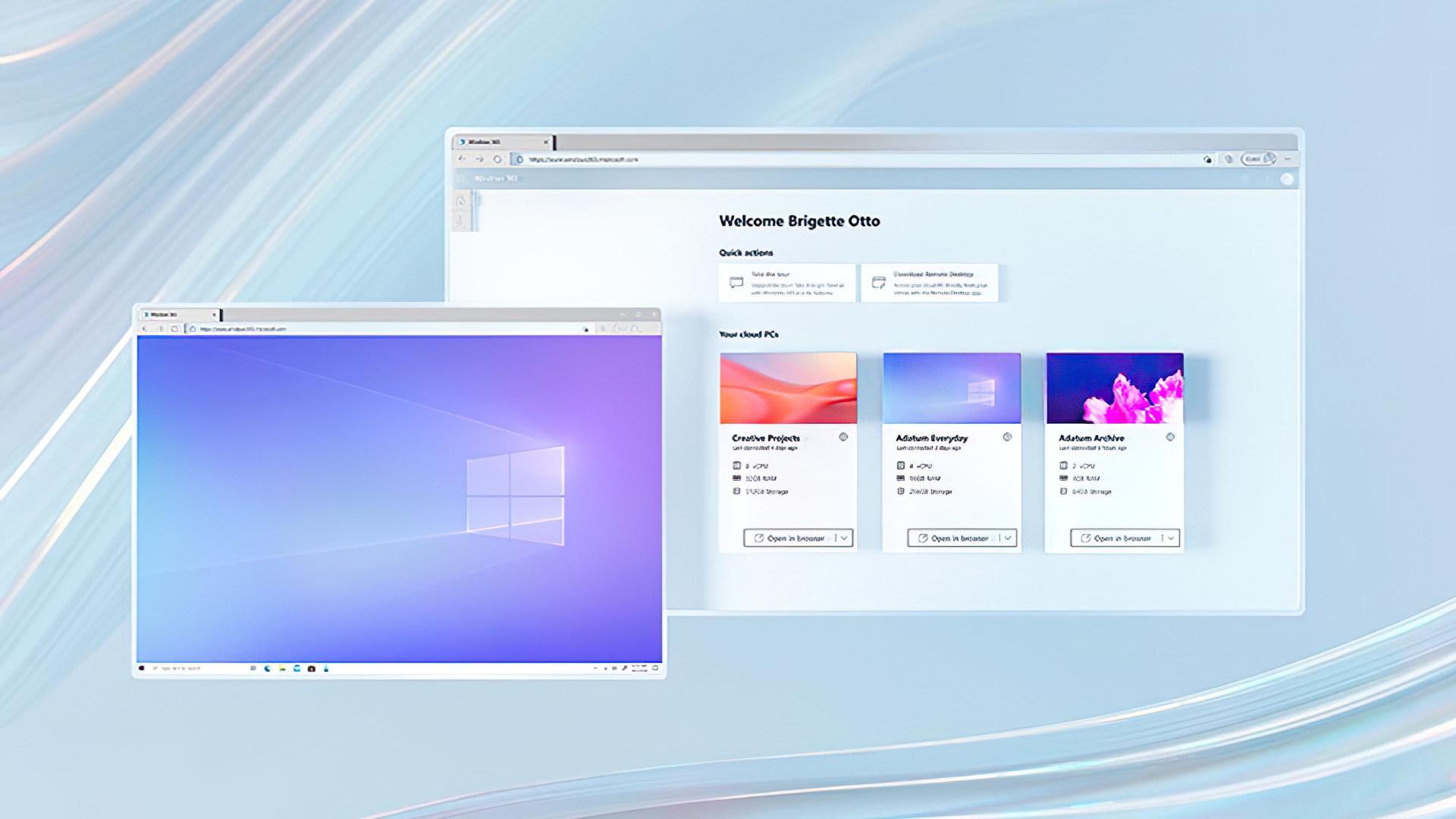 Microsoft, Hybrid, Ignite, Windows 365, Cloud-PC