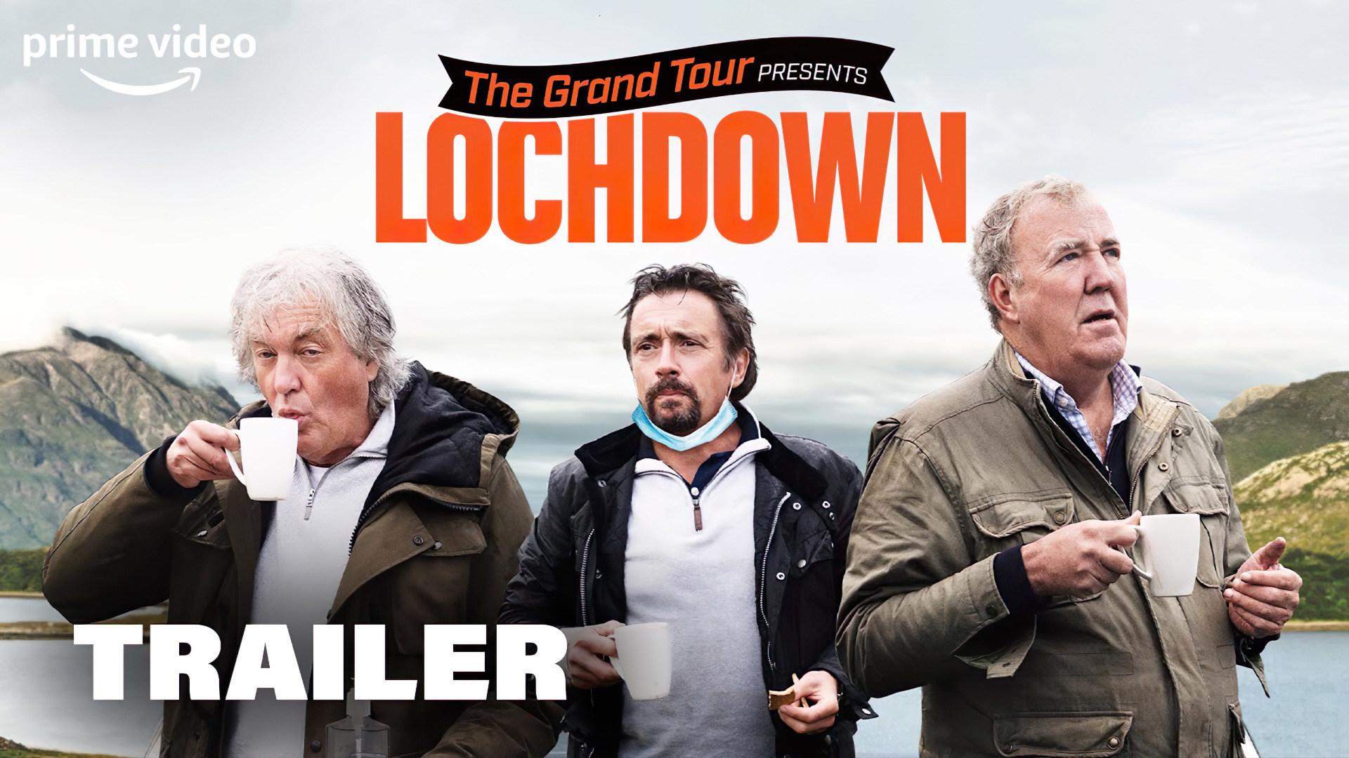 Trailer, Amazon, Serie, Amazon Prime Video, Amazon Prime, Prime Video, Dokumentation, The Grand Tour, Special, Jeremy Clarkson, Richard Hammond, James may, The Grand Tour Lochdown