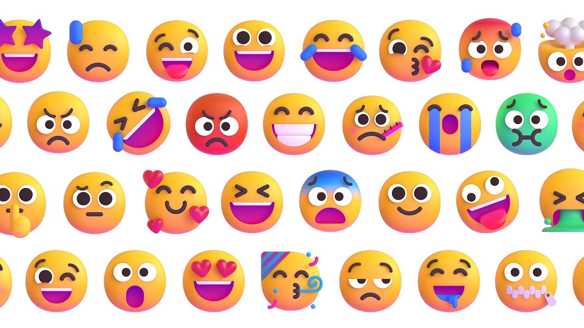 Microsoft, 3d, Emoji, Emojis, Smileys, 3D Emoji