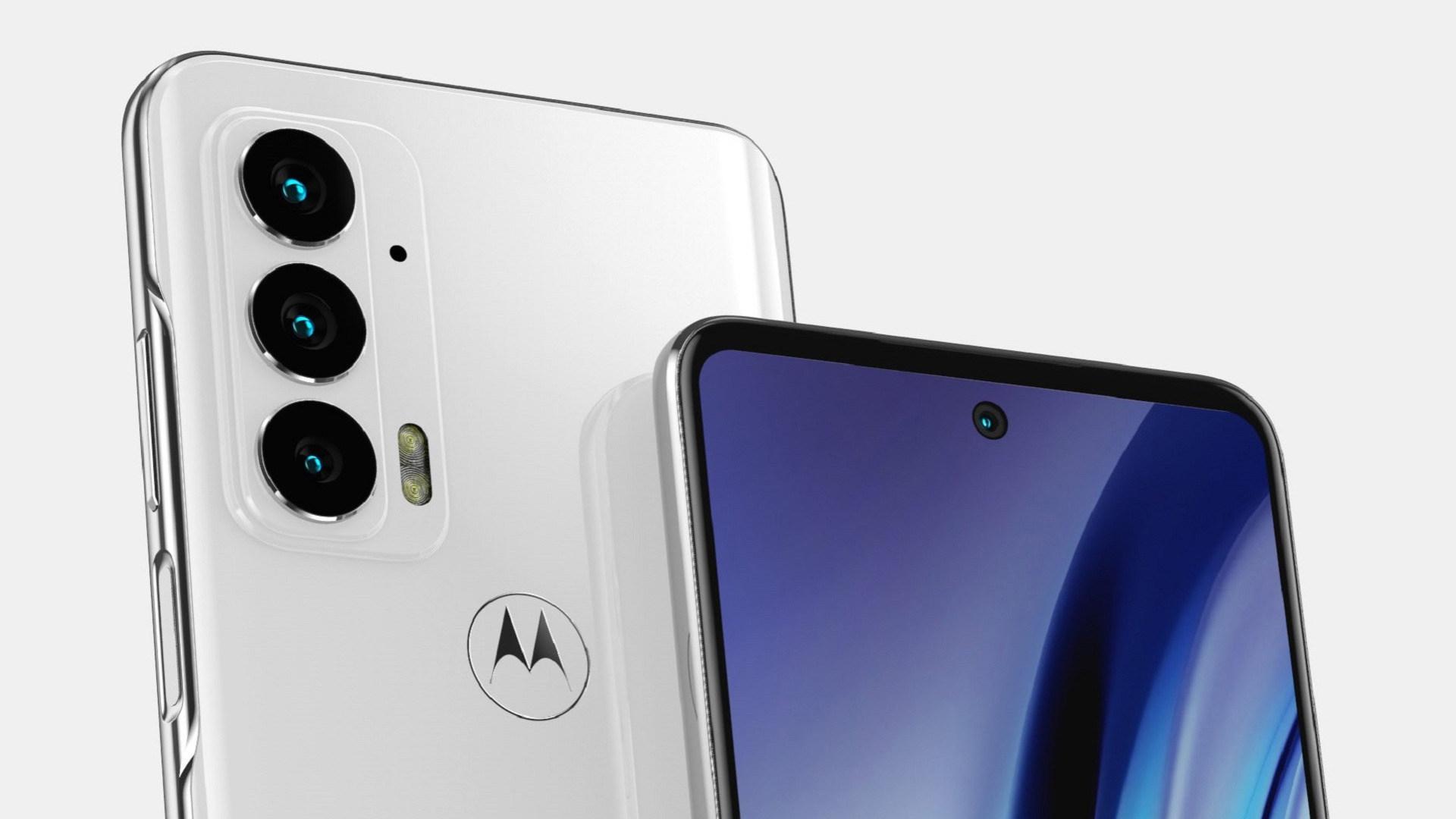 Smartphone, Motorola, Renderbild, Moto, Motorola Edge 20