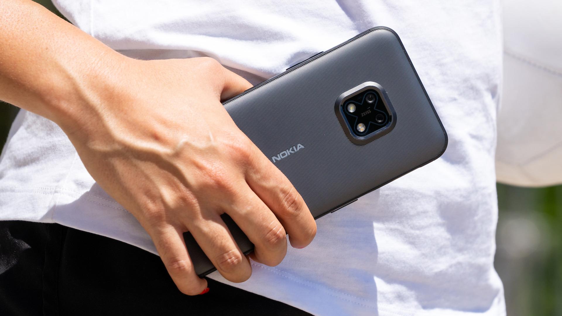 Nokia, Handy, Outdoor, Rugged Smartphone, Ruggedized, Nokia XR20