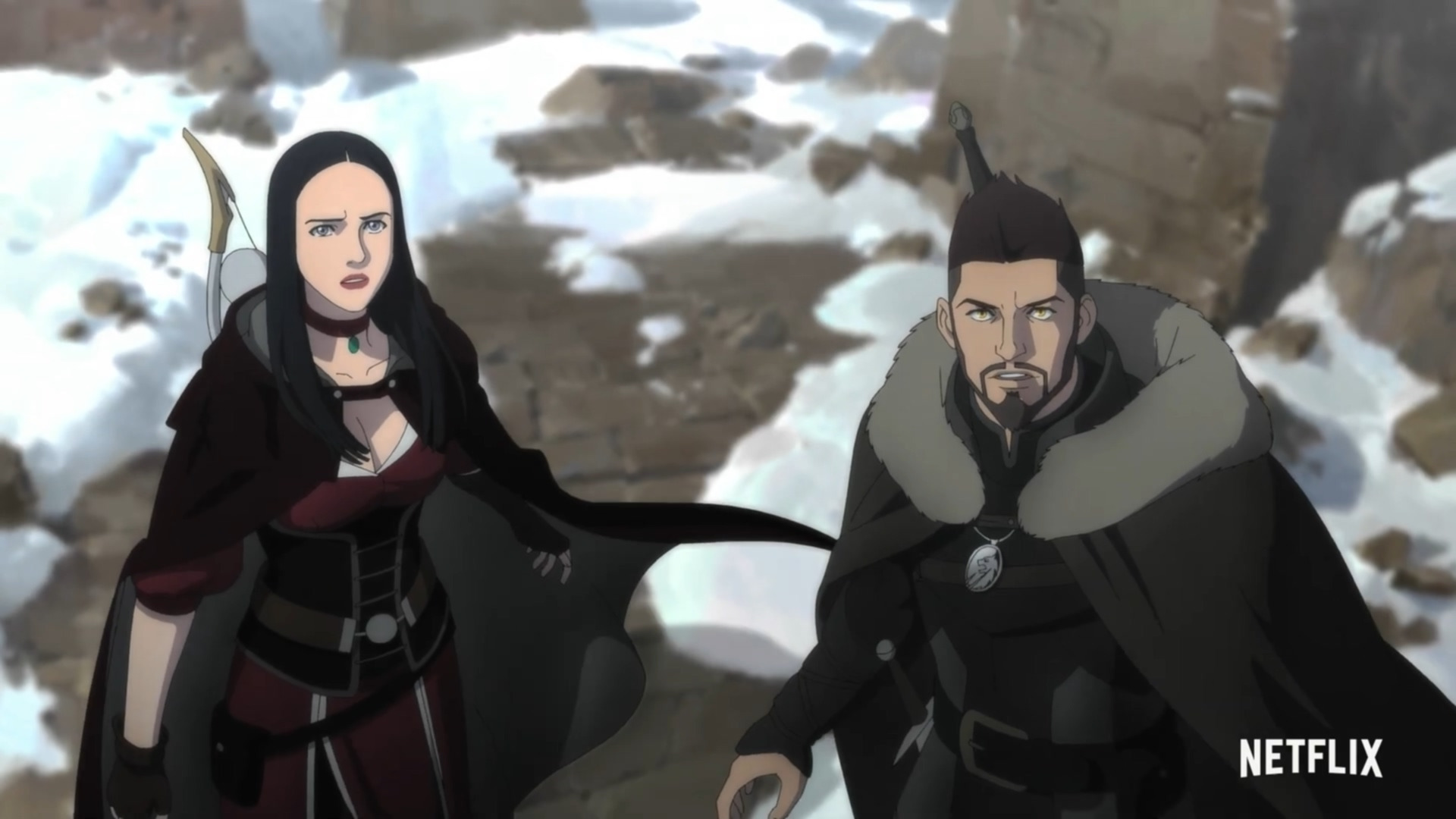 Trailer, Streaming, Netflix, Serie, The Witcher, Animationsserie, Nightmare of the Wolf, The Witcher: Nightmare of the Wolf