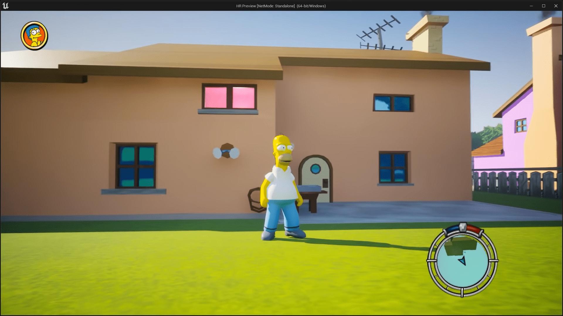 Spiel, The Simpsons, The Simpsons: Hit & Run, Simpsons: Hit & Run