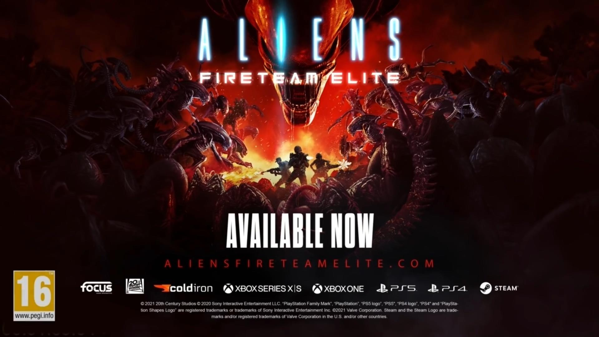 Trailer, Shooter, actionspiel, Aliens, Focus Home Interactive, Koop, Alien, Aliens: Fireteam Elite, Cold Iron Studios, Fireteam Elite