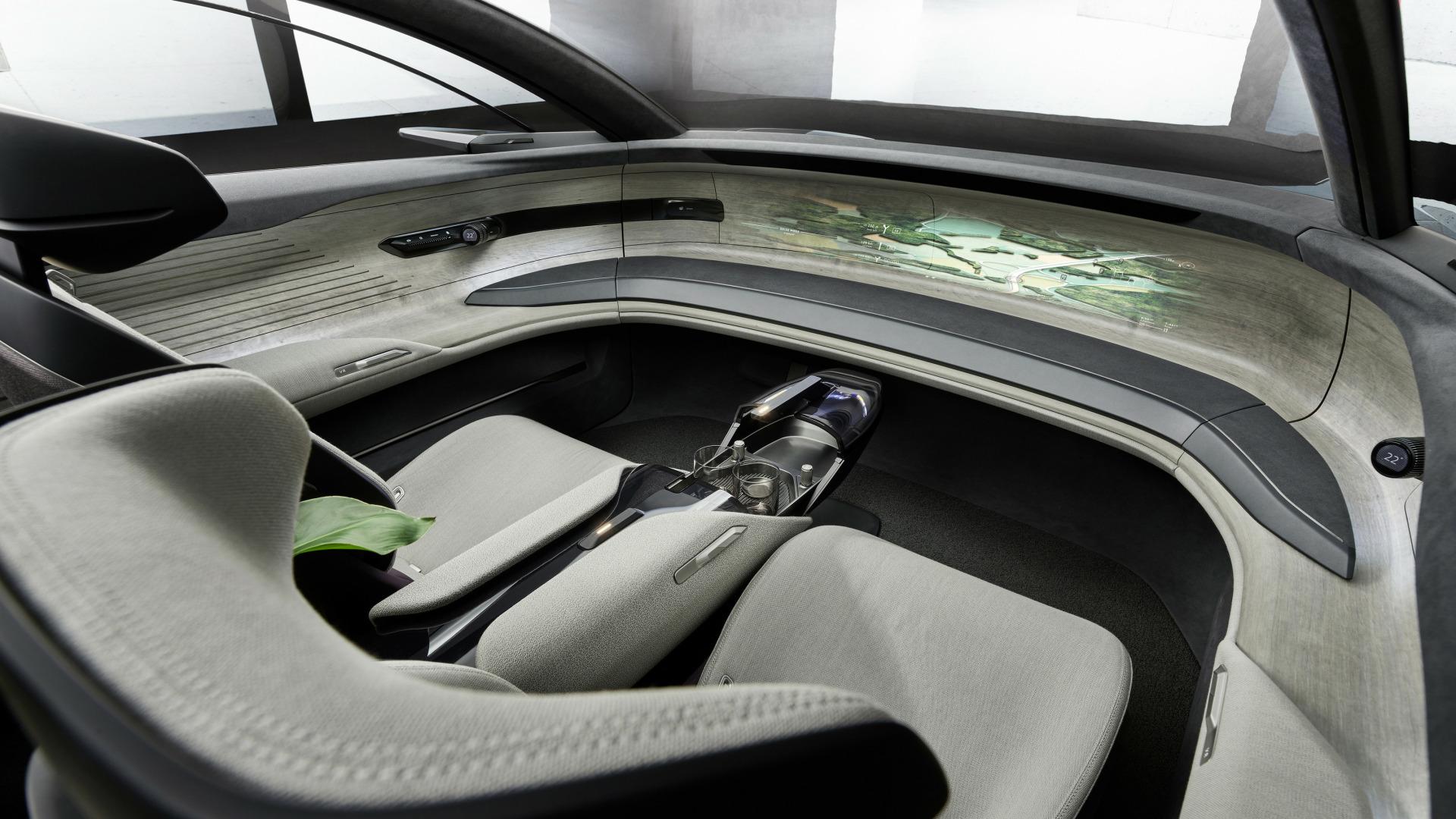 Video, Werbespot, Elektroautos, Bilder, Konzept, Audi, Luxus, Limousine, Grandsphere concept, Concept, Grandsphere, Luxuslimousine