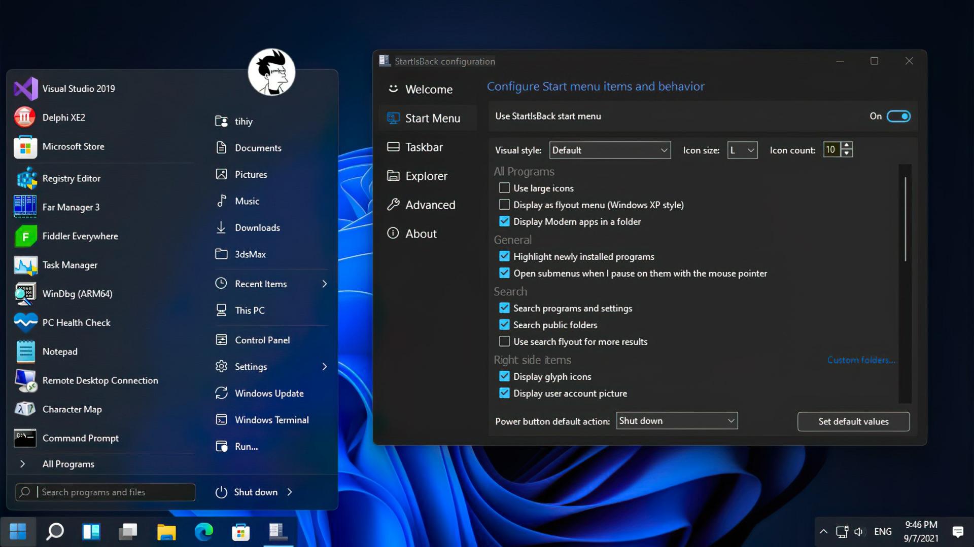 StartAllBack Download - Startmenü von Windows 11 ändern