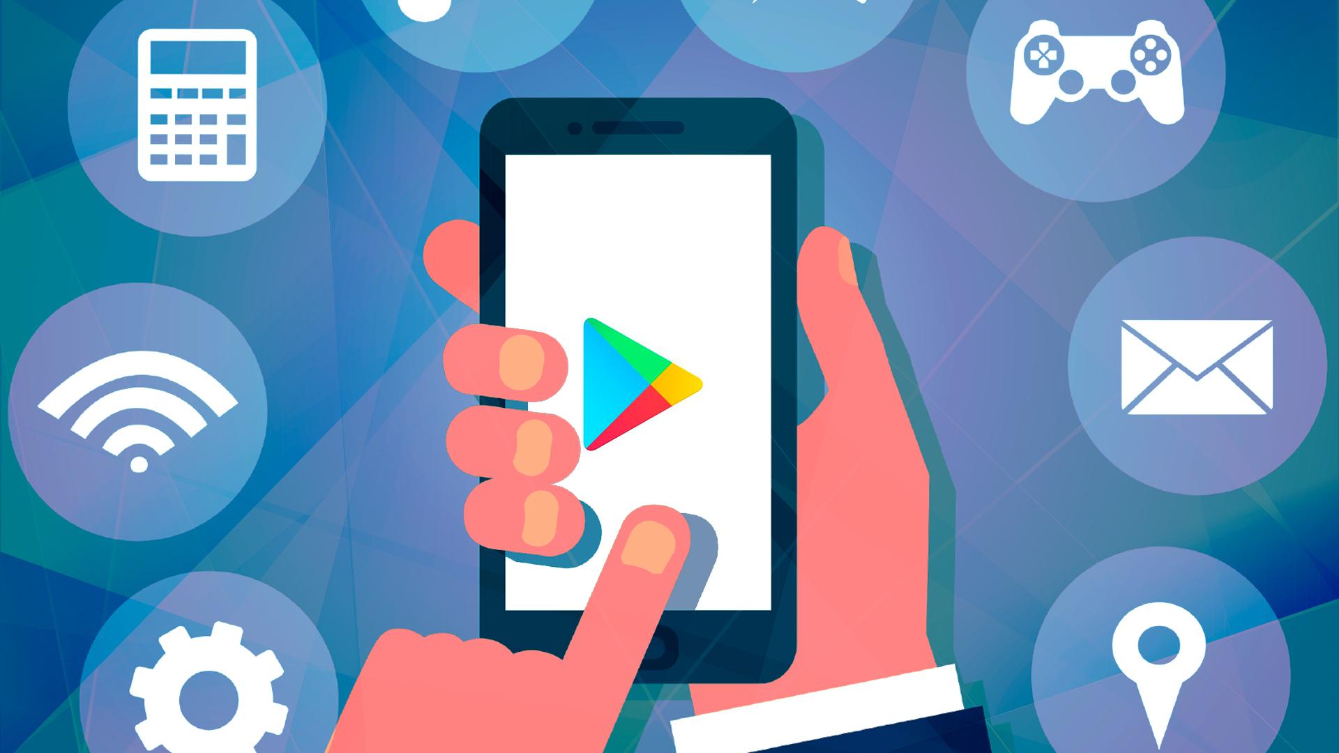 Logo, App Store, Play Store, Google Play Store, Google Play, Google PLay Services, Play Store Werbung