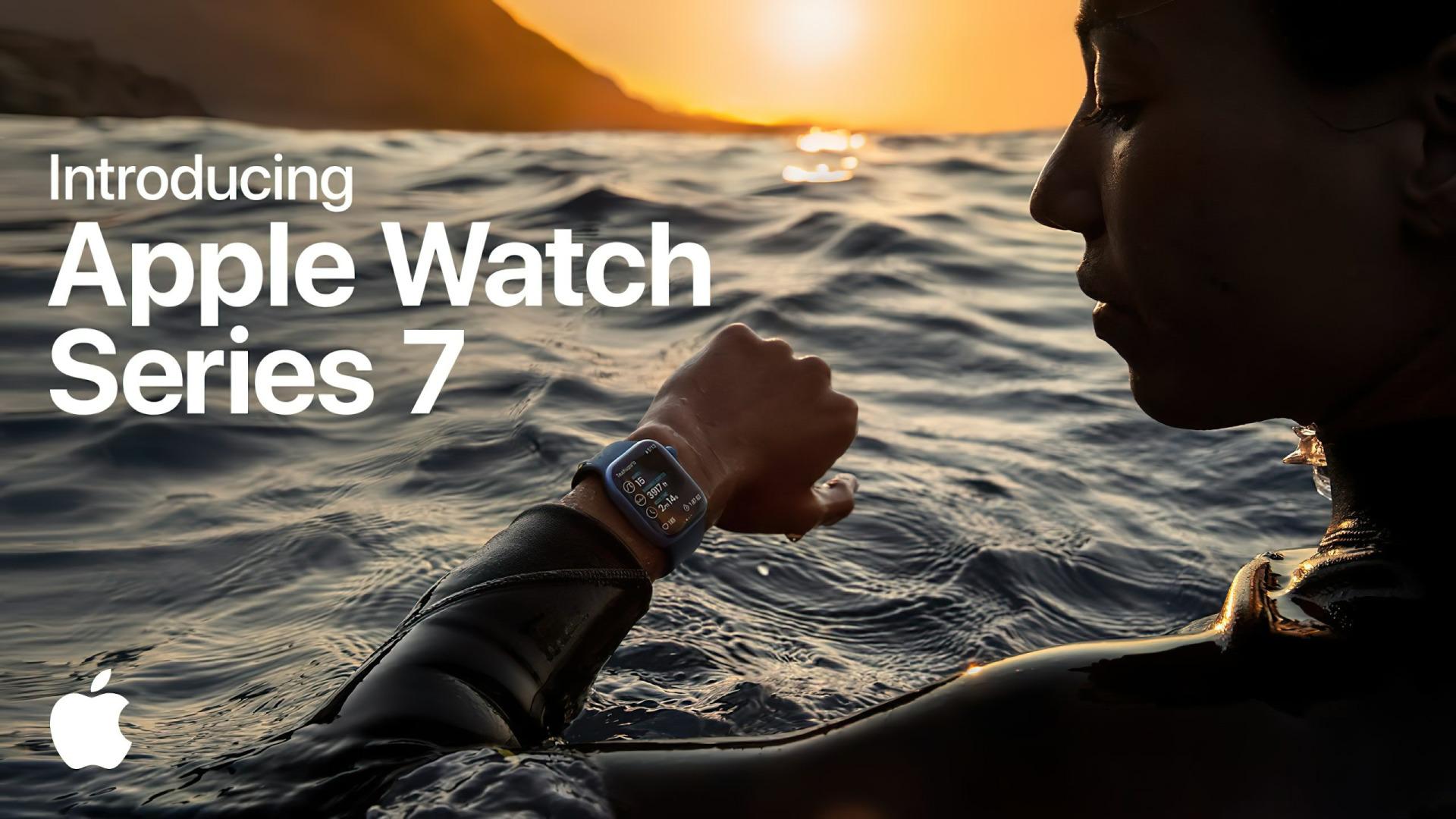 Apple, smartwatch, Werbespot, Uhr, Wearables, Apple Watch, Armbanduhr, Apple Watch Series 7