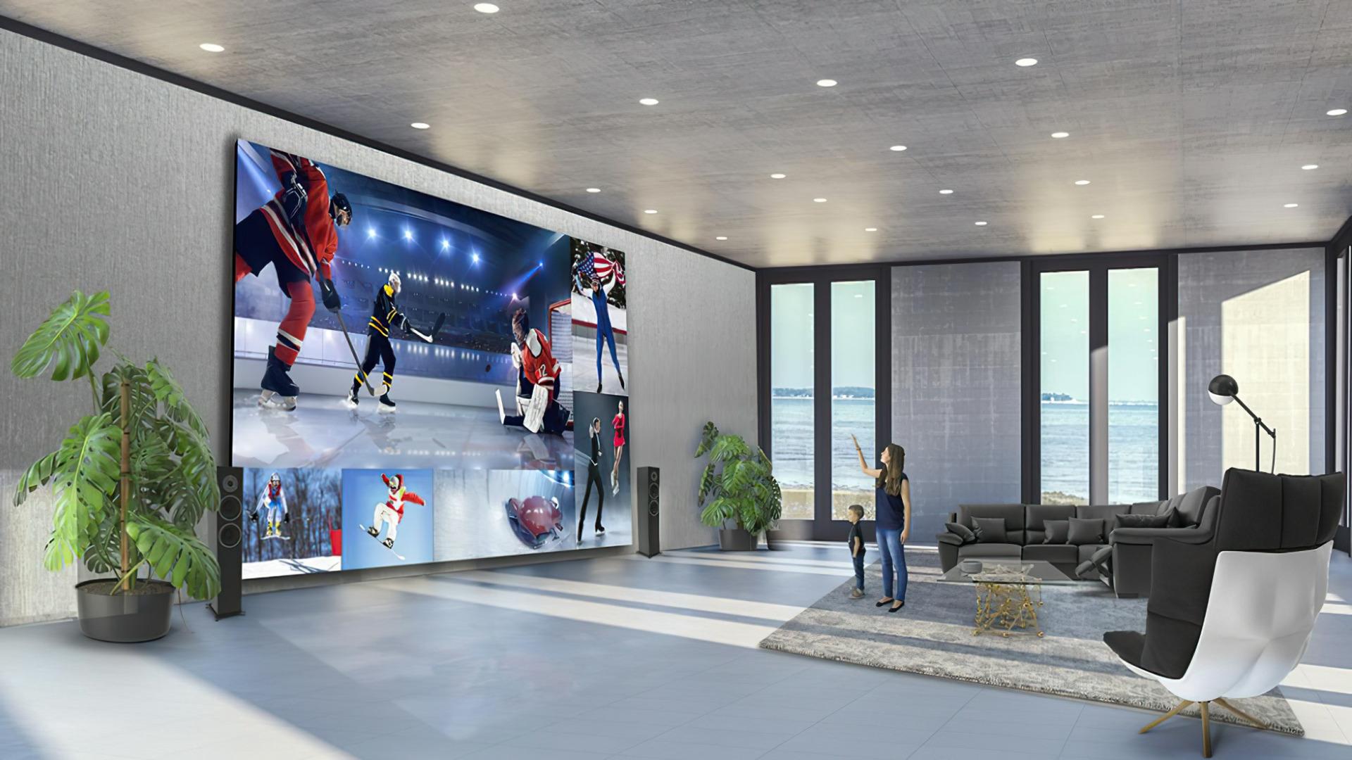 Display, LG, LG Electronics, Direct View LED Extreme Home Cinema Display