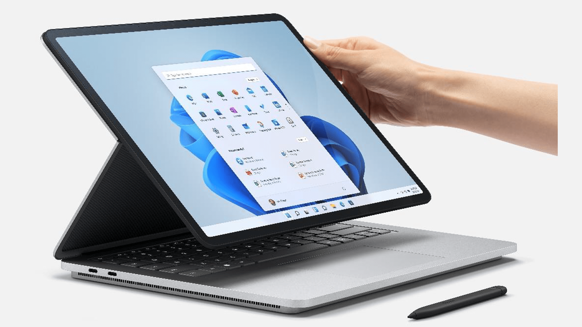 Microsoft, Tablet, Notebook, Laptop, Surface, Microsoft Surface, 2-in-1, Windows 11, Stylus, Convertible, Surface Laptop, Surface Laptop Studio, Surface Slim Pen 2, 35 Watt, Surface Book 4, Intel Core i5-11300H, Intel Core i7-11370H, Intel Core H35, Dynamic Woven Hinge