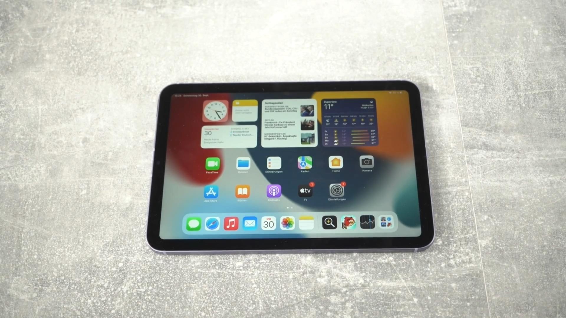 Apple, Tablet, Ipad, Test, Apple Ipad, NewGadgets, Johannes Knapp, Apple iPad mini, iPad Mini 6, Apple iPad Mini 6