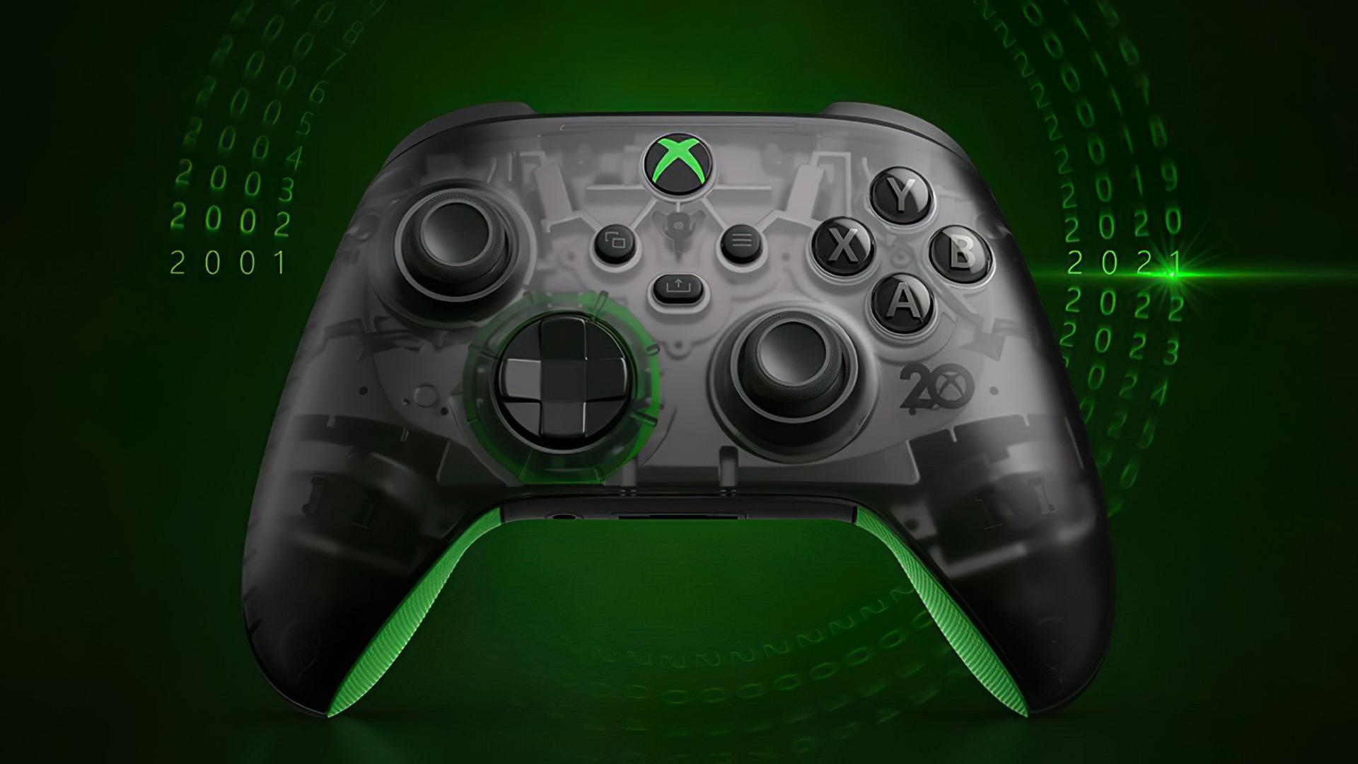 Xbox, Controller, Microsoft Xbox, Special Edition, 20th Anniversary