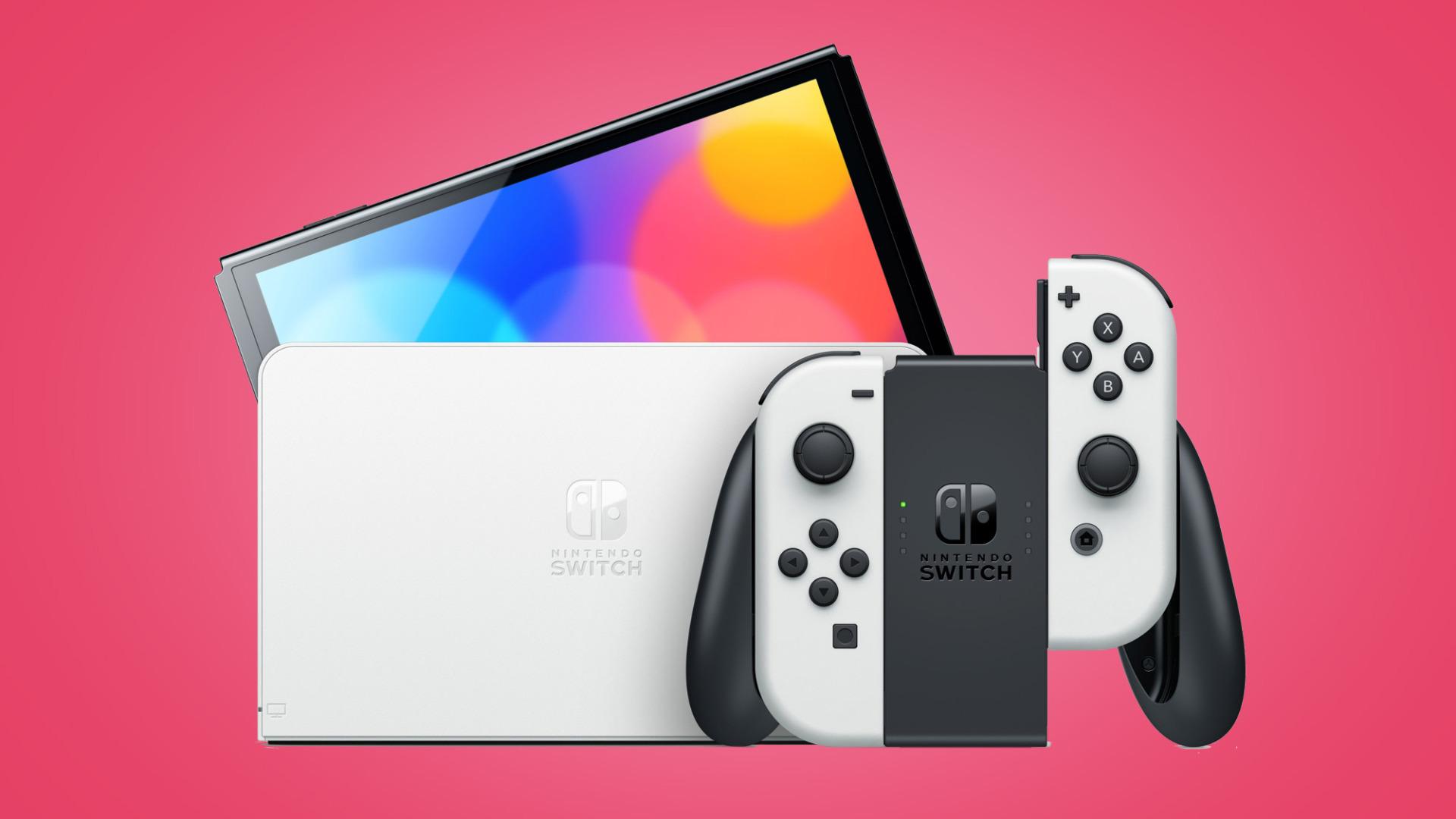Gaming, Spiele, Konsole, Games, Nintendo, Konsolen, Nintendo Switch, Joy-Cons, OLED-Modell