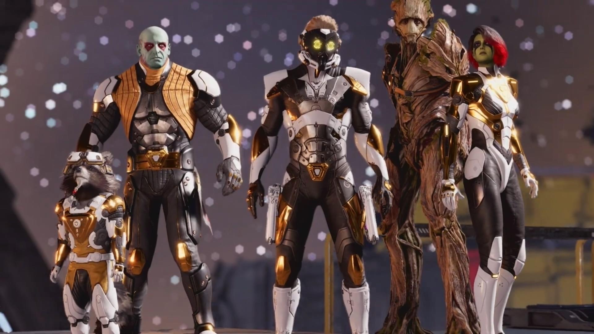 Trailer, Marvel, Square Enix, Adventure, Guardians of the Galaxy, Marvel's Guardians of the Galaxy, Eidos Montreal