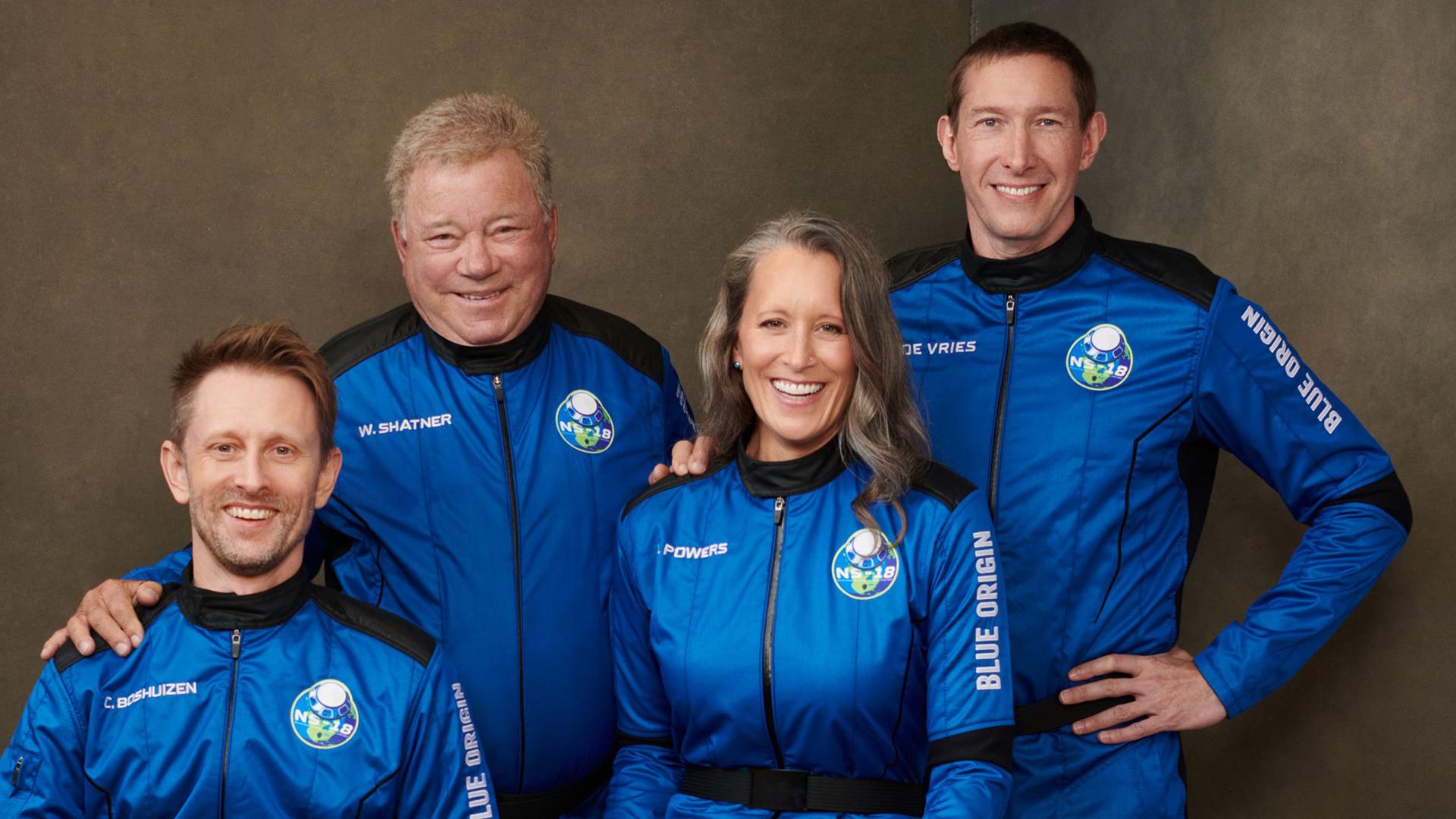 Raumfahrt, Blue Origin, William Shatner, Crew, NS-18, New Shepard 4