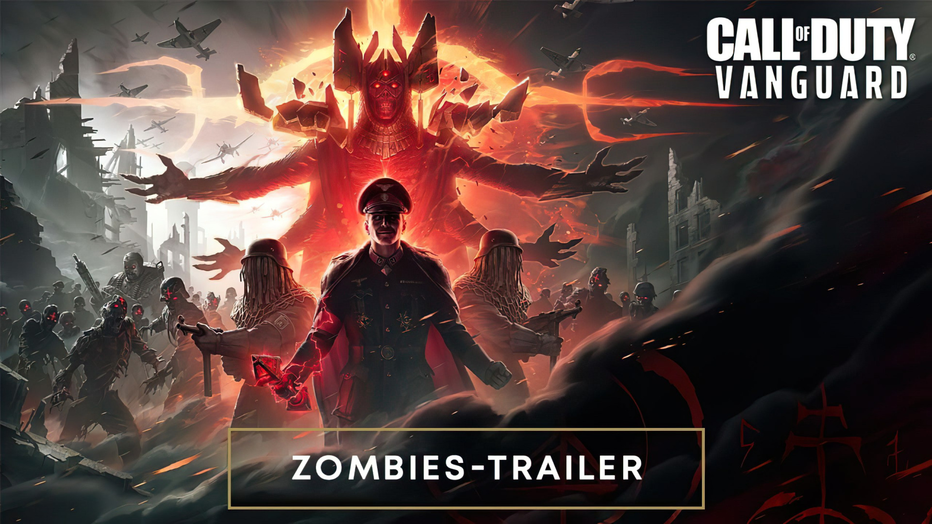 Trailer, Ego-Shooter, Call of Duty, Activision, Zombies, Cod, Koop, Vanguard, Call Of Duty: Vanguard, Call of Duty Vanguard, Treyarch Studios