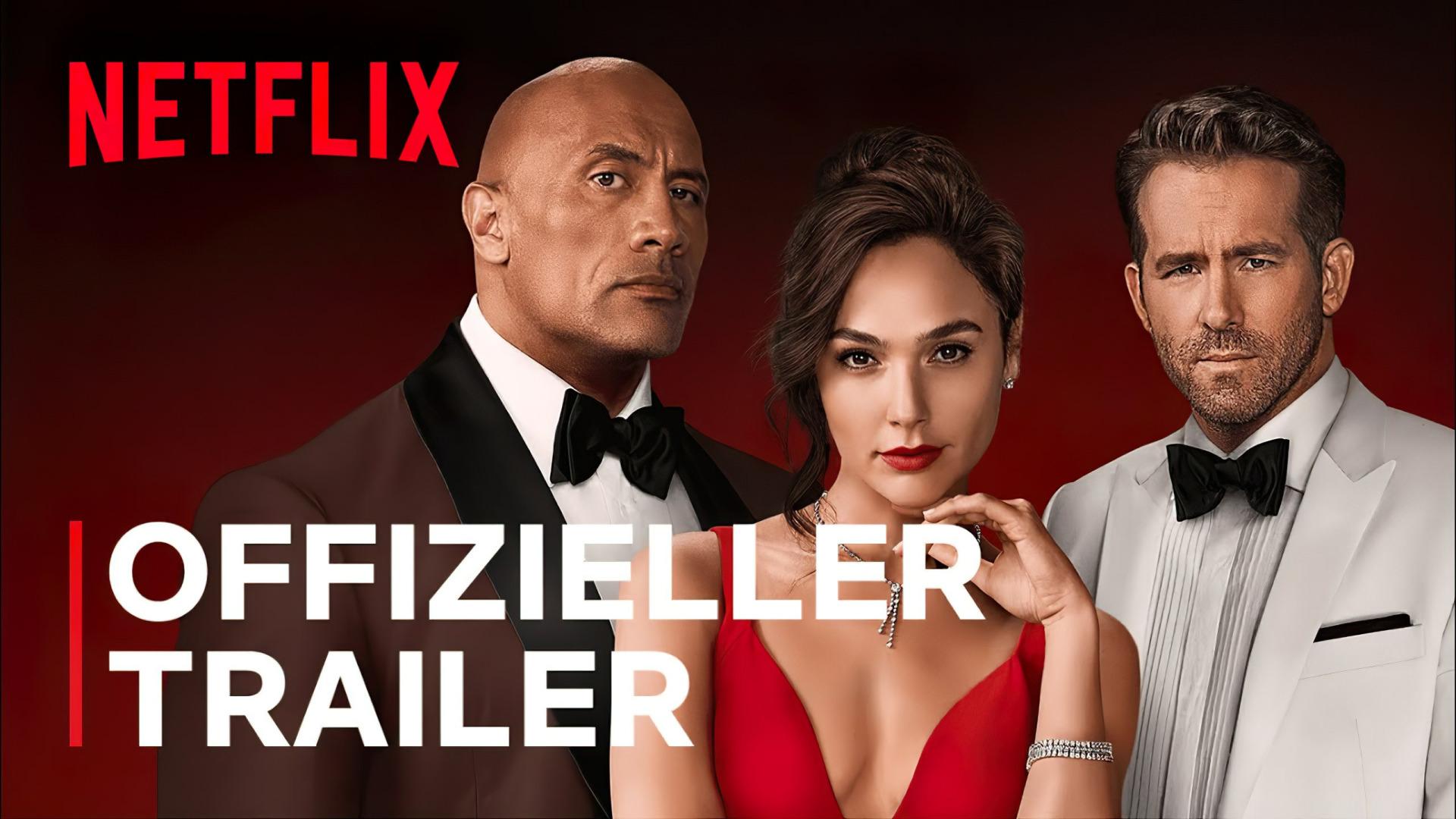 Red Notice: Neuer Trailer zur starbesetzten Actionkomödie von Netflix