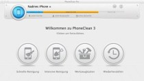 PhoneClean - Reinigungs-Tool f�r iPhone, iPad und iPod