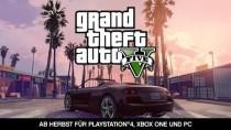 Grand Theft Auto 5 kommt im Herbst für PS4, Xbox One und PC