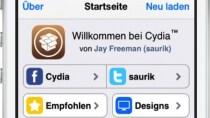 Umfangreiches Update f�r den Cydia Store - mit deutschem Men�