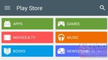 Play Store 5.0: Neuer Blick auf Google-Shop im Android-L-Design