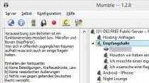 Mumble - Gratis-Software für Sprachkonferenzen