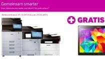Samsung-Aktion: Drucker kaufen und Gratis-Galaxy-Tablet erhalten