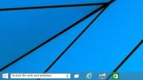 Windows 10: So aktiviert man die versteckte Taskbar-Suchleiste