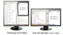 EIZO bringt vollkommen quadratischen 26,5-Zoll-Monitor