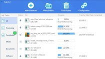 EagleGet - Kostenloser Download-Manager mit Video-Grabber