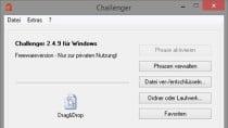 Challenger 2.4.11 - Freeware-Verschl�sselung