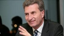 Senf dazu: G�nther Oettinger macht sich zum Horst - Oexit, jetzt!