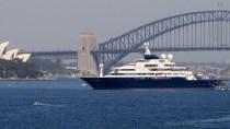 F�r Silvester: Microsoft-Mitbegr�nder parkt 250 Mio. Jacht in Sydney
