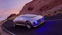 """Rollendes """"Raumschiff"""": So stellt sich Mercedes die Auto-Zukunft vor"""