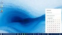 Windows 10: So aktiviert man neuen Login-Screen und Uhr/Kalender