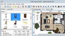 Sweet Home 3D - Kostenloser Wohnraumplaner