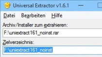 Universal Extractor 1.6.1 - Dateien entpacken