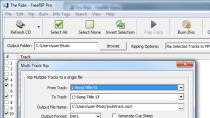 FreeRIP - Audio-CDs rippen, konvertieren und brennen