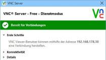 RealVNC 5.3.2 - Fernwartungssoftware