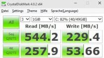 CrystalDiskMark Portable - Benchmark f�r Festplatten und SSDs