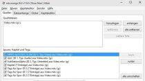 MKVToolnix 8.1 - MKV-Dateien modifizieren