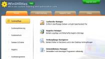 WinUtilities Free - Kostenlose Systemoptimierung