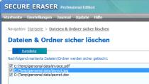 Secure Eraser Standard Edition - Daten sicher l�schen