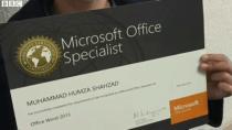 Sechsjähriger besteht Microsoft-Test zum Microsoft Office Specialist